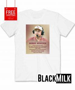 Bobby Bowden Coaching Career T-Shirt