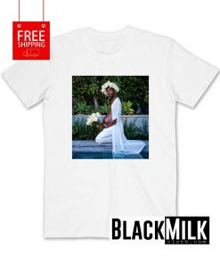 Lil Nas X Shout Out Pregnant T-Shirt
